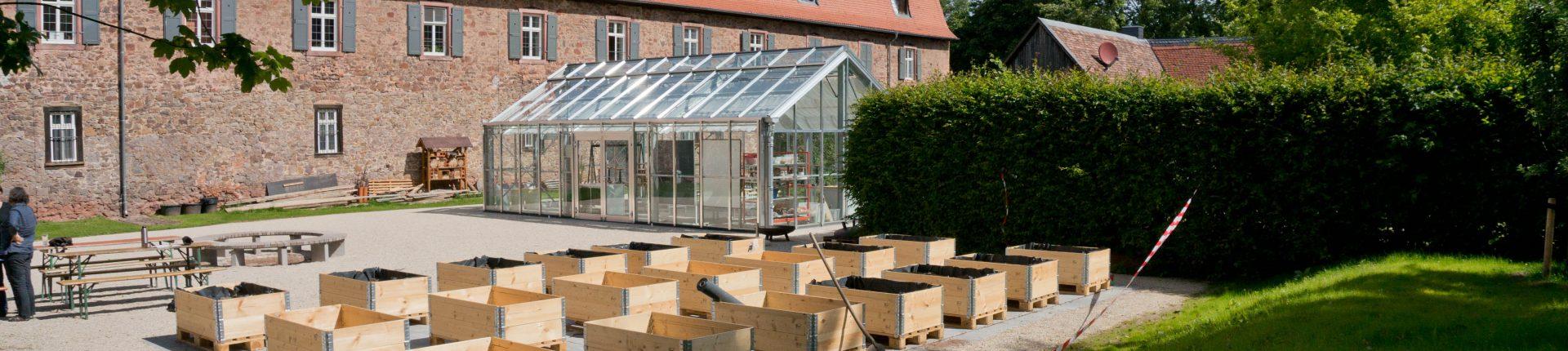 Glashäuser im bioversum